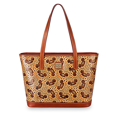 Mouseketeer Ear Hat Natural Leather Tote by Dooney & Bourke