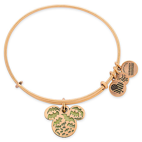 Mickey Mouse Icon Halloween Bangle by Alex and Ani