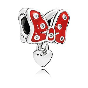 Minnie Mouse Pavé Bow Charm - PANDORA