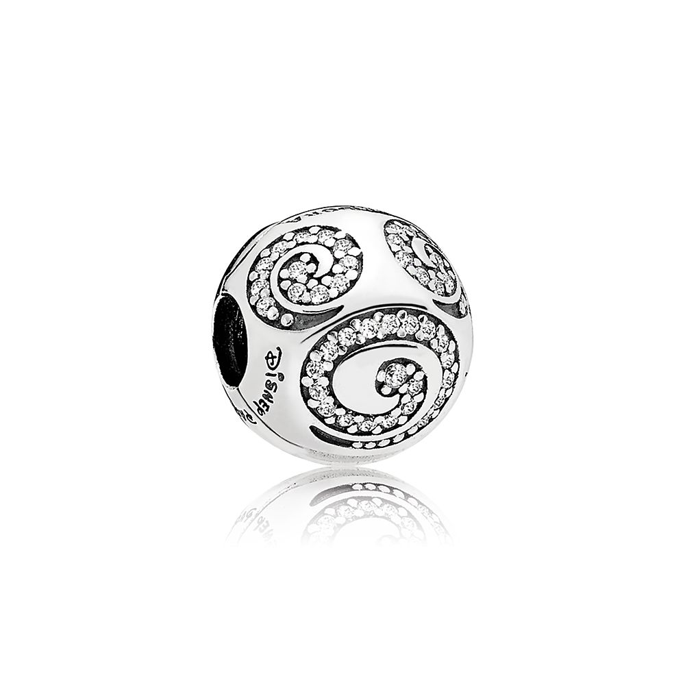 Mickey Mouse Swirl Clip Charm by Pandora Jewelry