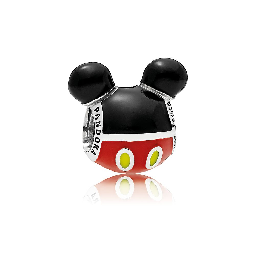 Mickey Mouse ''Playful'' Icon Charm by Pandora Jewelry