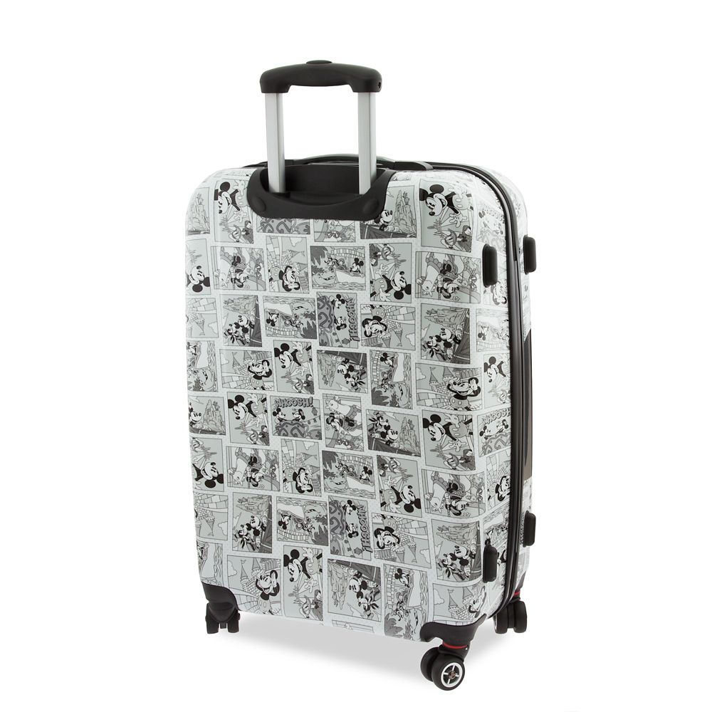 Mickey Mouse Comic Luggage – Large