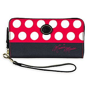 Minnie Mouse Rocks the Dots Wallet by Dooney & Bourke