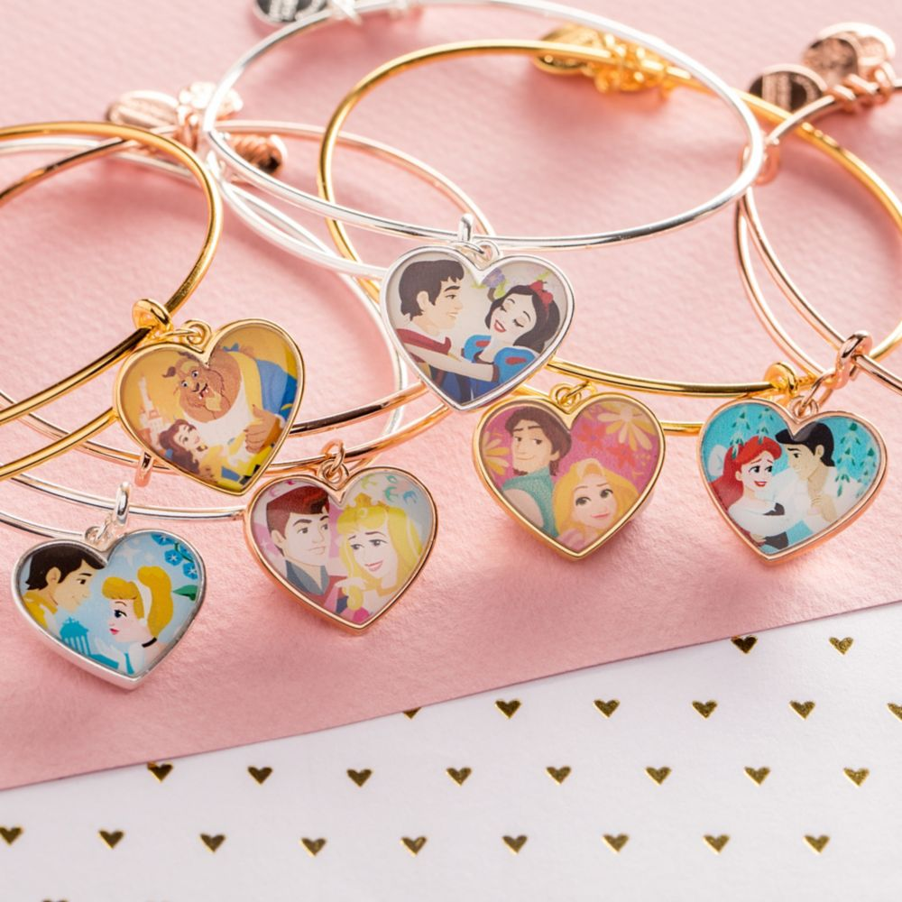 Snow White and Prince Valentine's Day Bangle by Alex and Ani