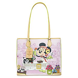 Minnie Mouse Epcot Flower and Garden Tote by Dooney & Bourke