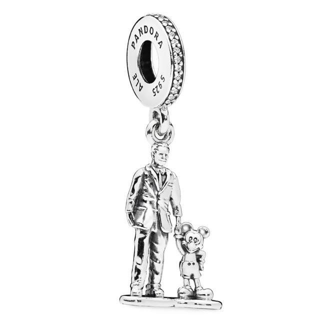 Walt Disney and Mickey Mouse ''Partners'' Charm by Pandora Jewelry