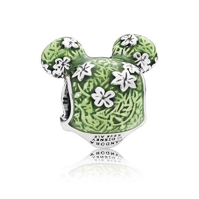 Mickey Mouse Topiary Charm by Pandora Jewelry – Epcot International Flower  & Garden Festival