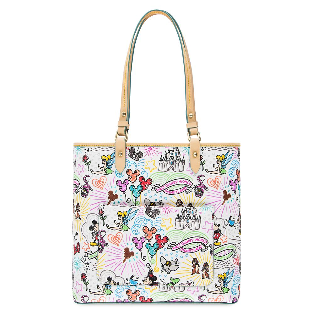 Disney Sketch Tote by Dooney & Bourke