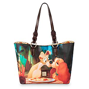Lady and the Tramp Tote Bag by Dooney & Bourke