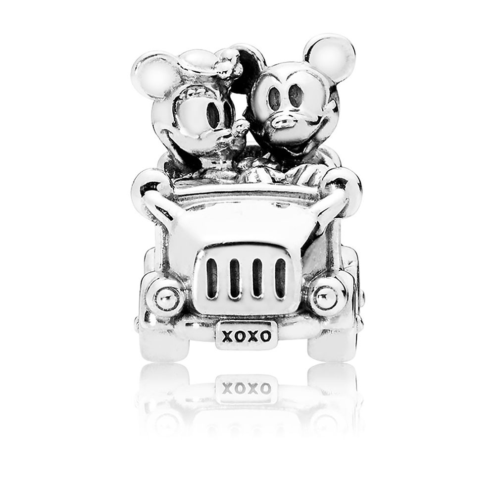 Mickey and Minnie Mouse Vintage Car Charm by Pandora Jewelry