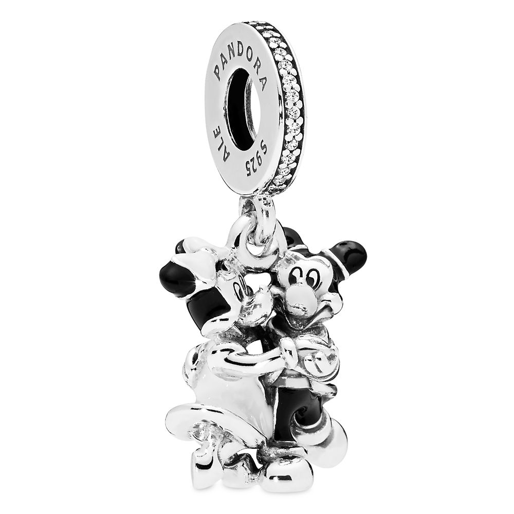 pandora mickey and minnie necklace