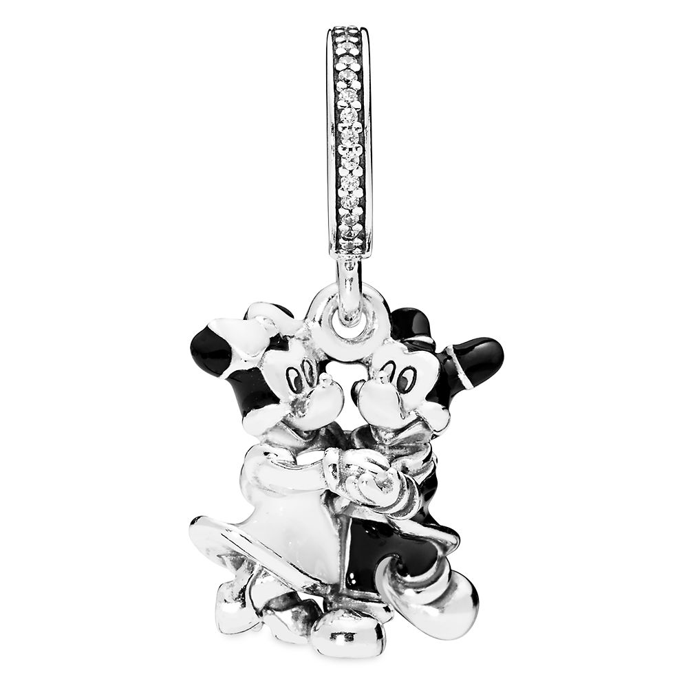 Mickey and Minnie Mouse Dangle Charm by Pandora Jewelry