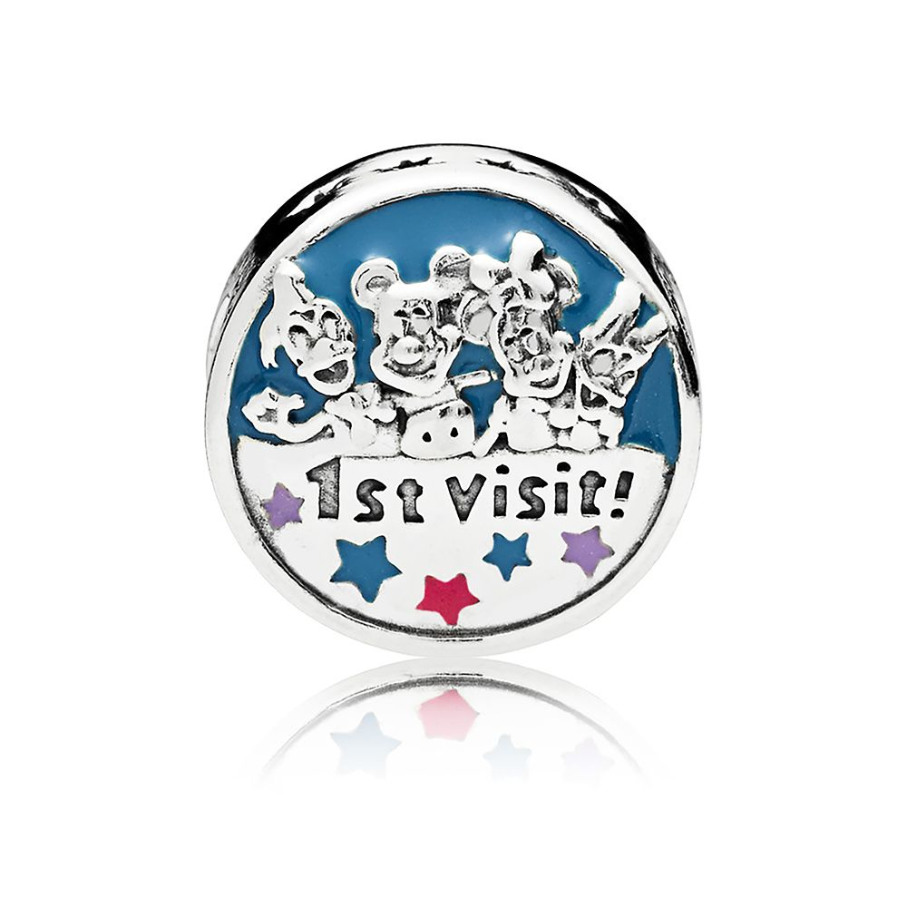 Mickey Mouse and Friends ''1st Visit'' Charm by Pandora Jewelry