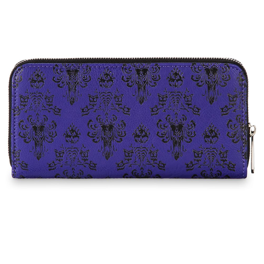 Haunted Mansion Wallpaper Wallet by Loungefly