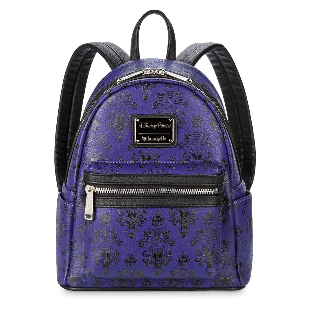 Haunted Mansion Wallpaper Mini Backpack by Loungefly