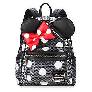 87dca292c6d Minnie Mouse Sequined Mini Backpack by Loungefly Price   85.00