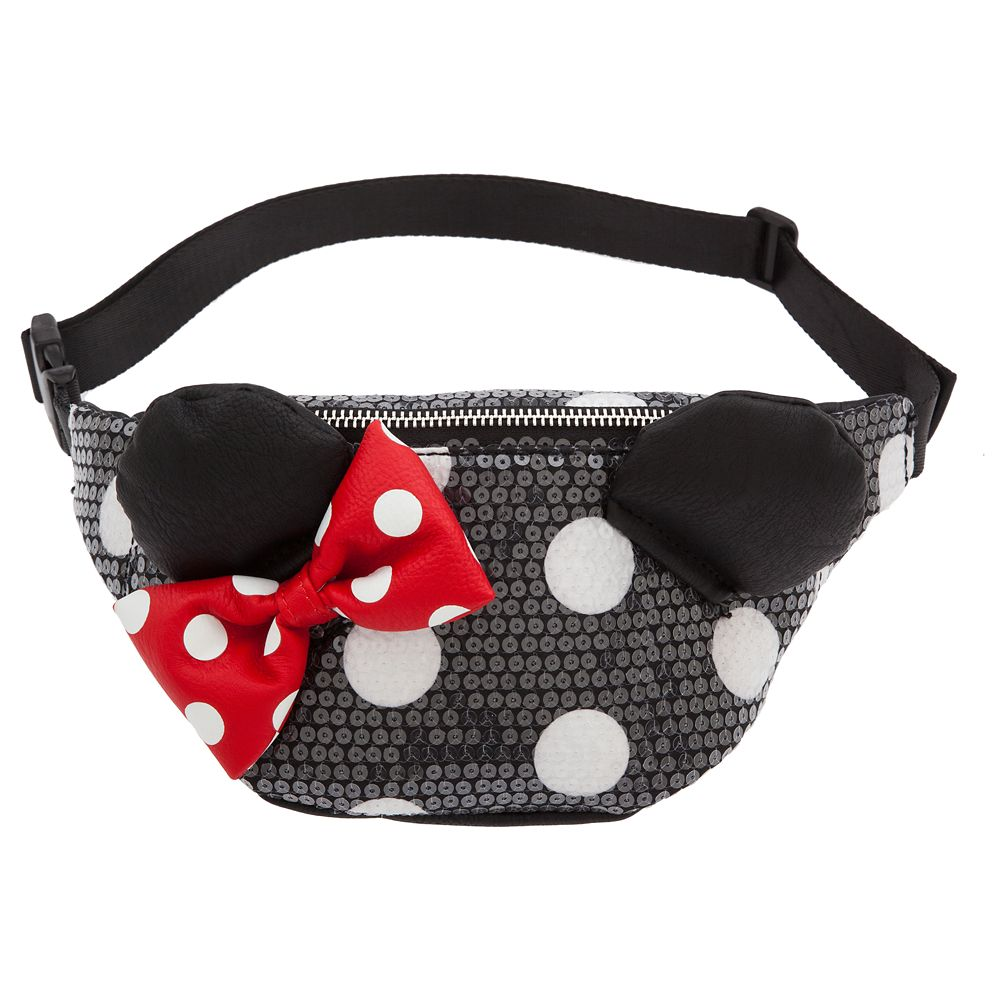 Minnie Mouse Sequined Hip Pack by Loungefly Official shopDisney