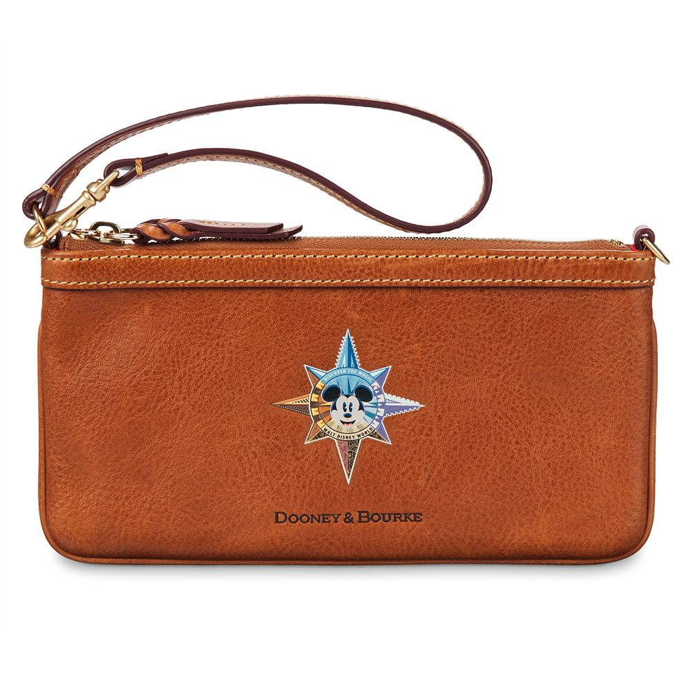 Mickey Mouse Leather Wristlet by Dooney & Bourke – Walt Disney World