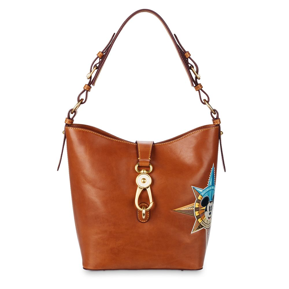 Mickey Mouse Leather Bucket Tote by Dooney & Bourke  Disneyland