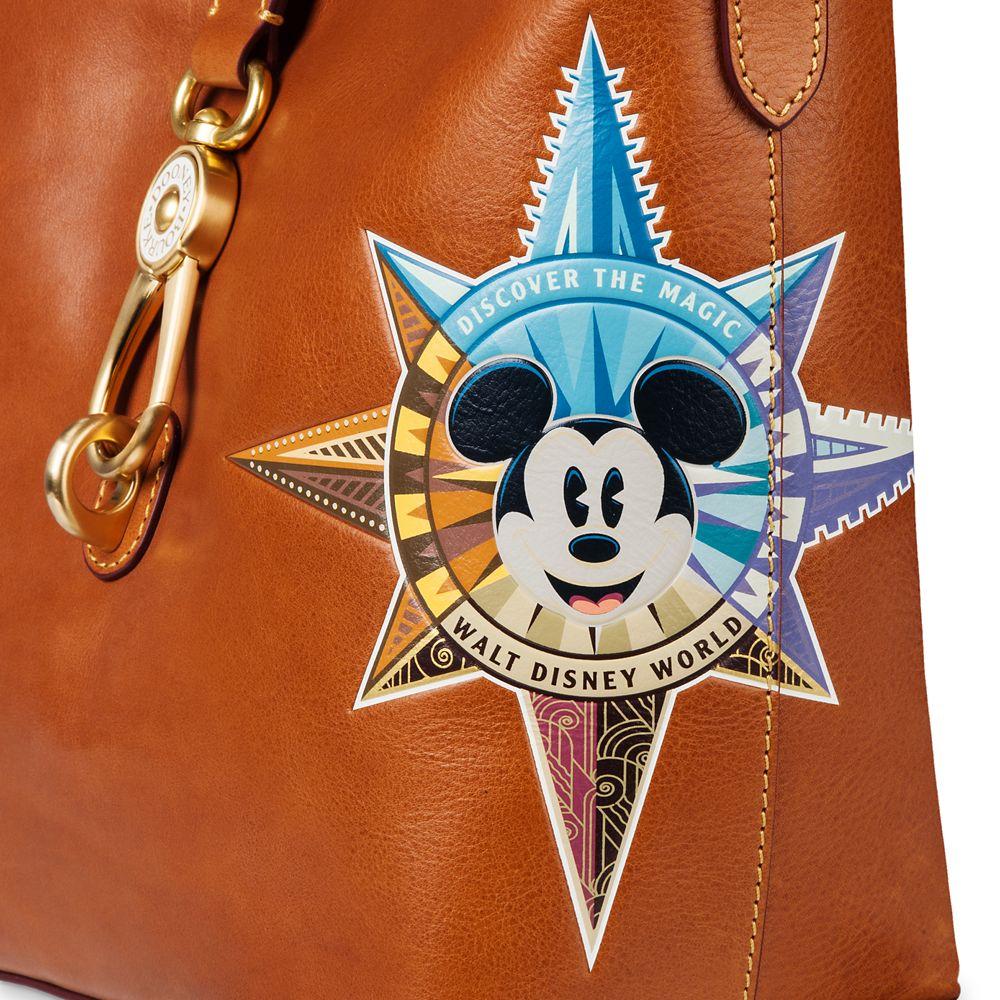 Mickey Mouse Leather Bucket Tote by Dooney & Bourke – Walt Disney World