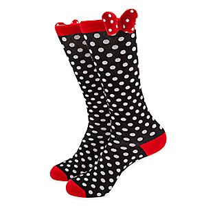 Minnie Mouse Knee Socks for Women