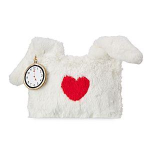 White Rabbit Pouch - Alice in Wonderland