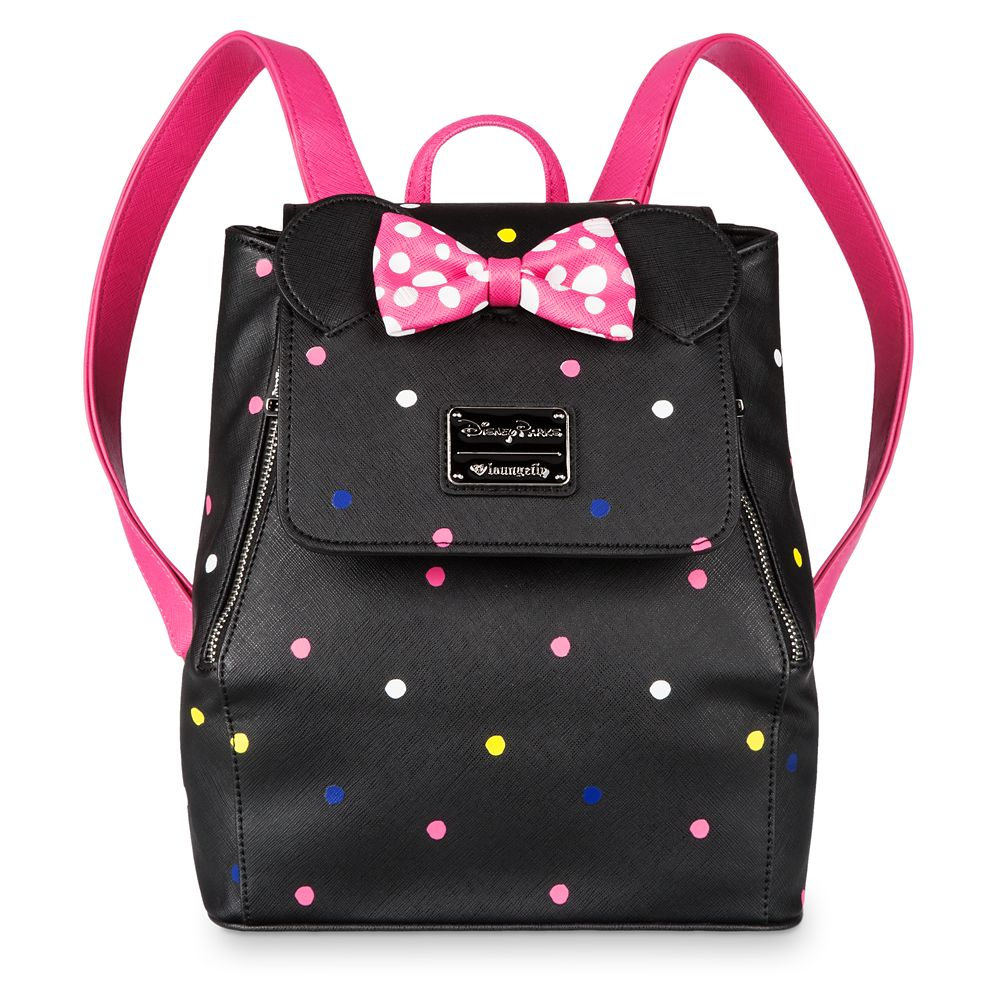 Minnie Mouse Mini Backpack by Loungefly