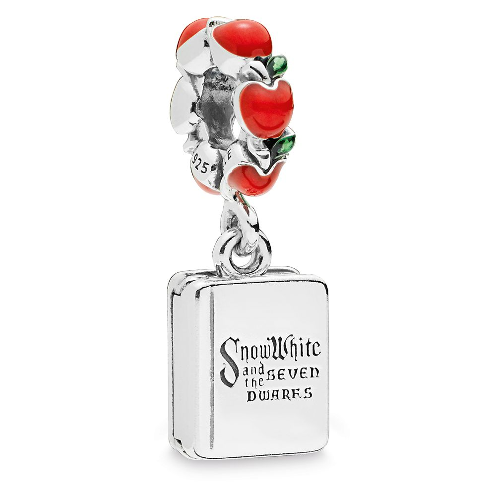 Snow White and the Seven Dwarfs Book Charm by Pandora Jewelry
