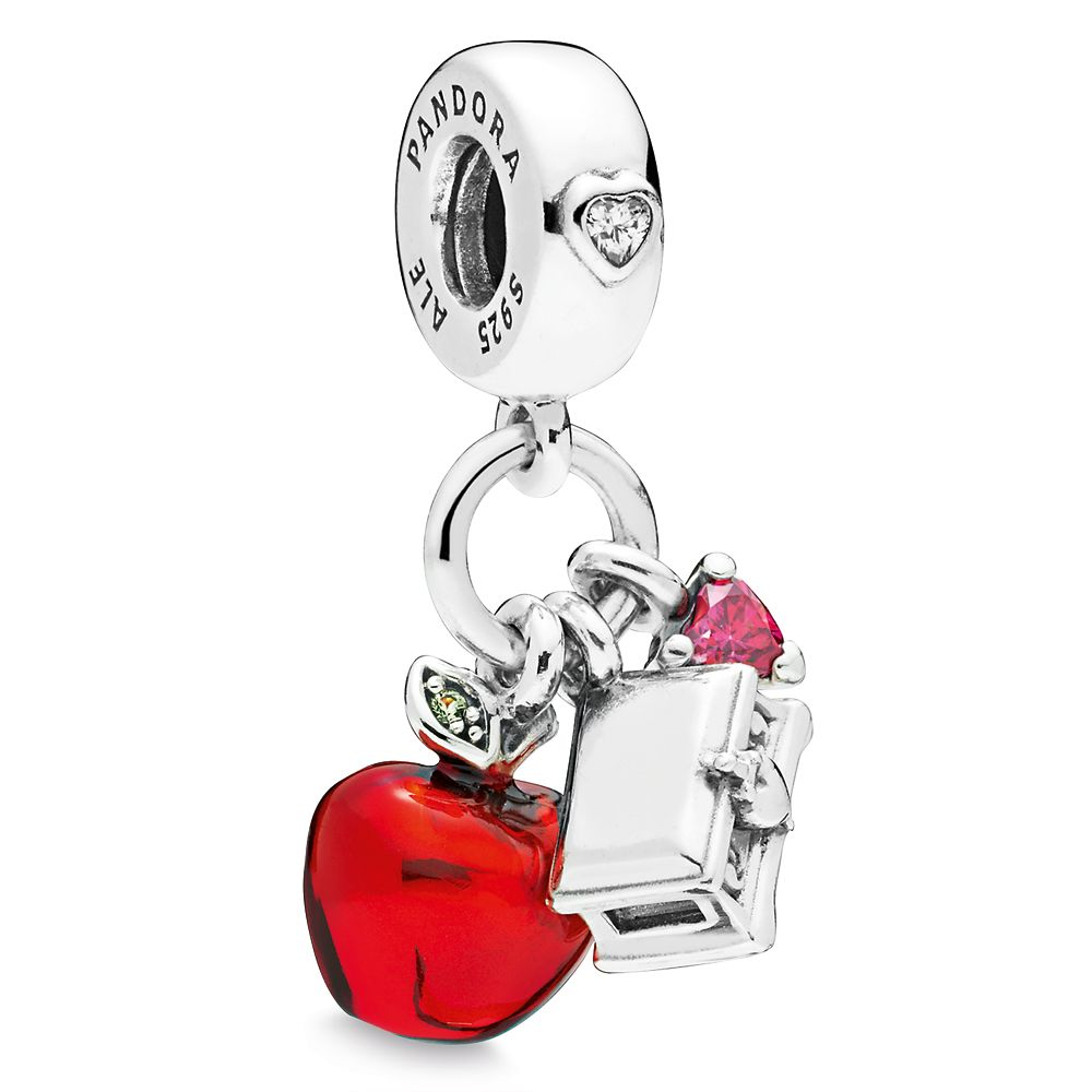 Snow White Apple and Heart Box Charm by Pandora Jewelry