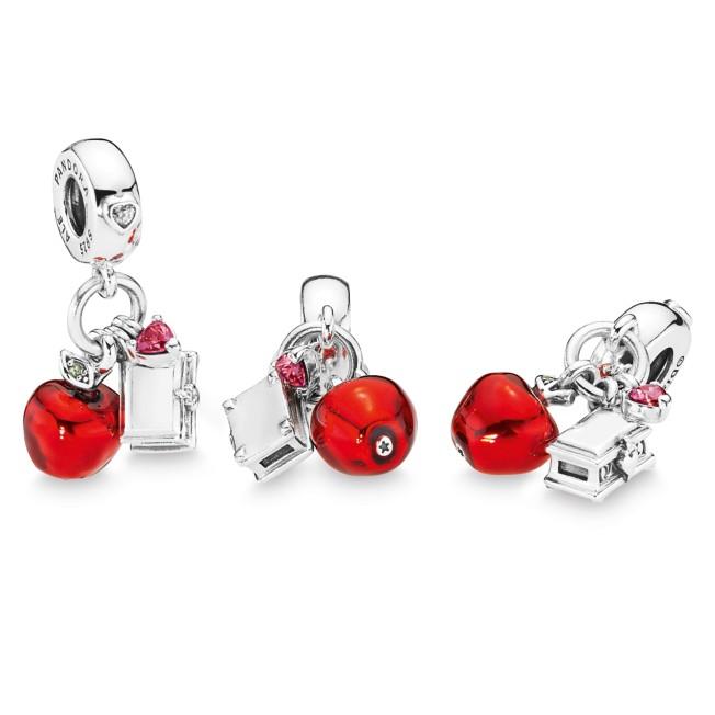 Snow White Apple And Heart Box Charm By Pandora Jewelry Shopdisney
