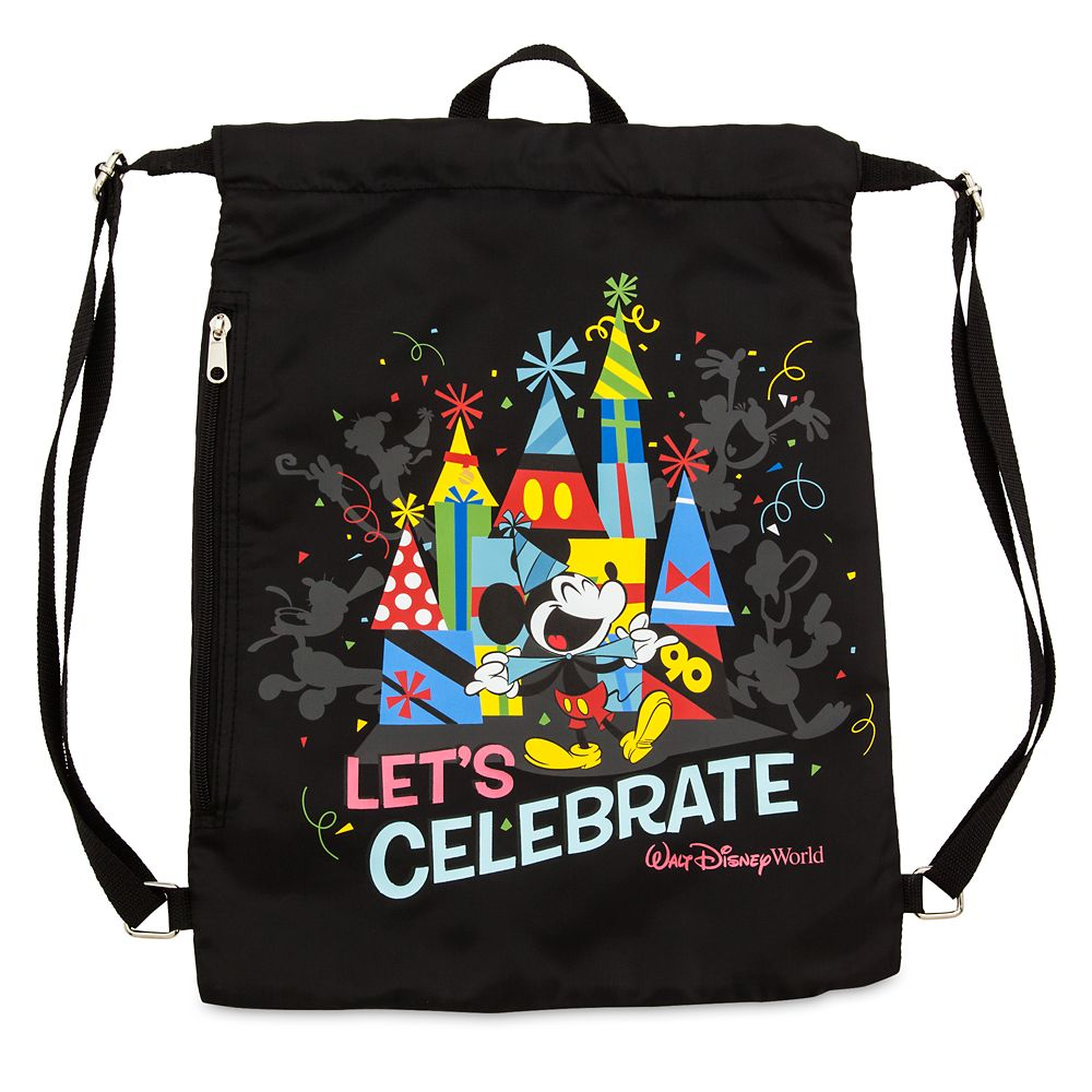 Mickey Mouse ''Celebration of the Mouse'' Cinch Sack – Walt Disney World