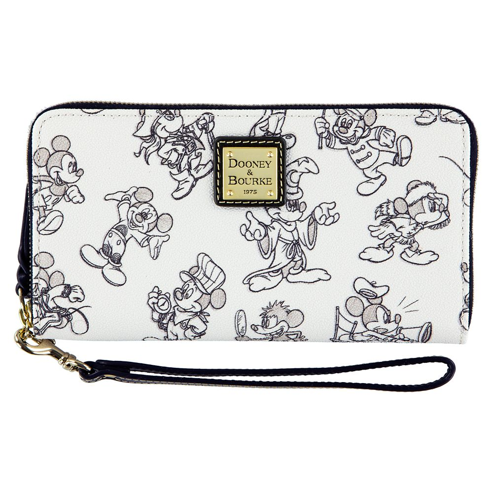Mickey Mouse Through the Years Wallet by Dooney & Bourke