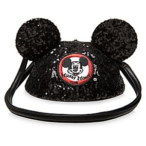 Mickey Mouse Club Crossbody Bag for Adults by Loungefly
