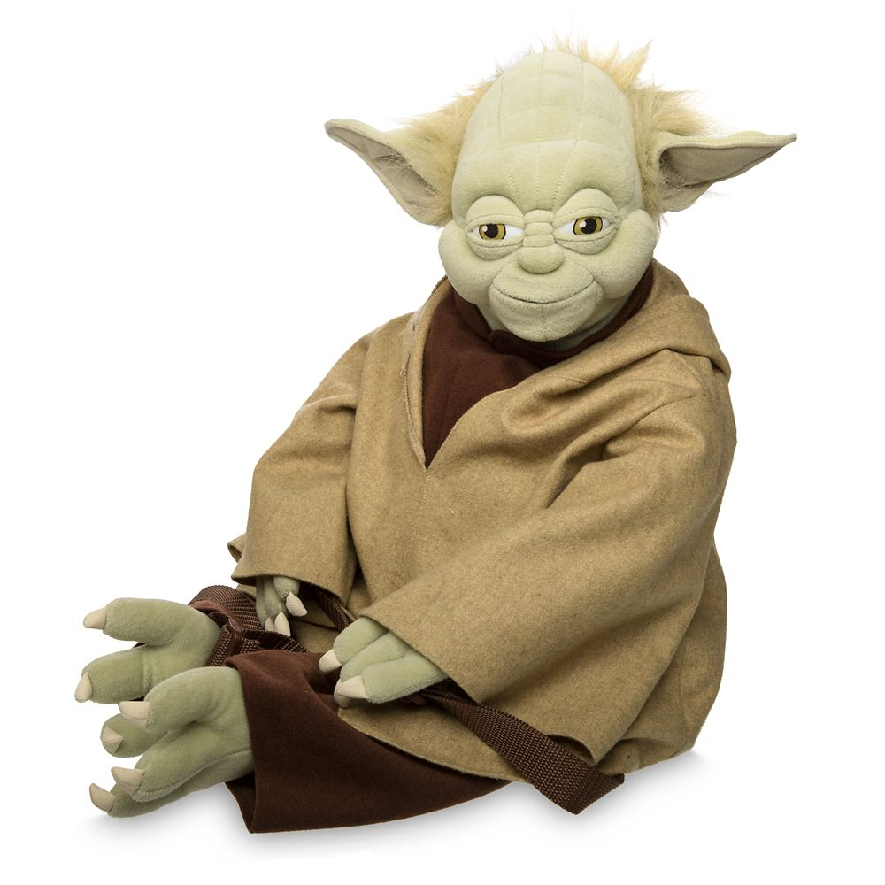 Yoda Plush Backpack – Star Wars
