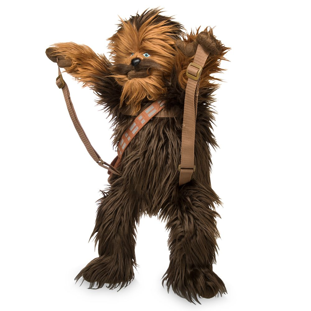 Chewbacca Plush Backpack – Star Wars