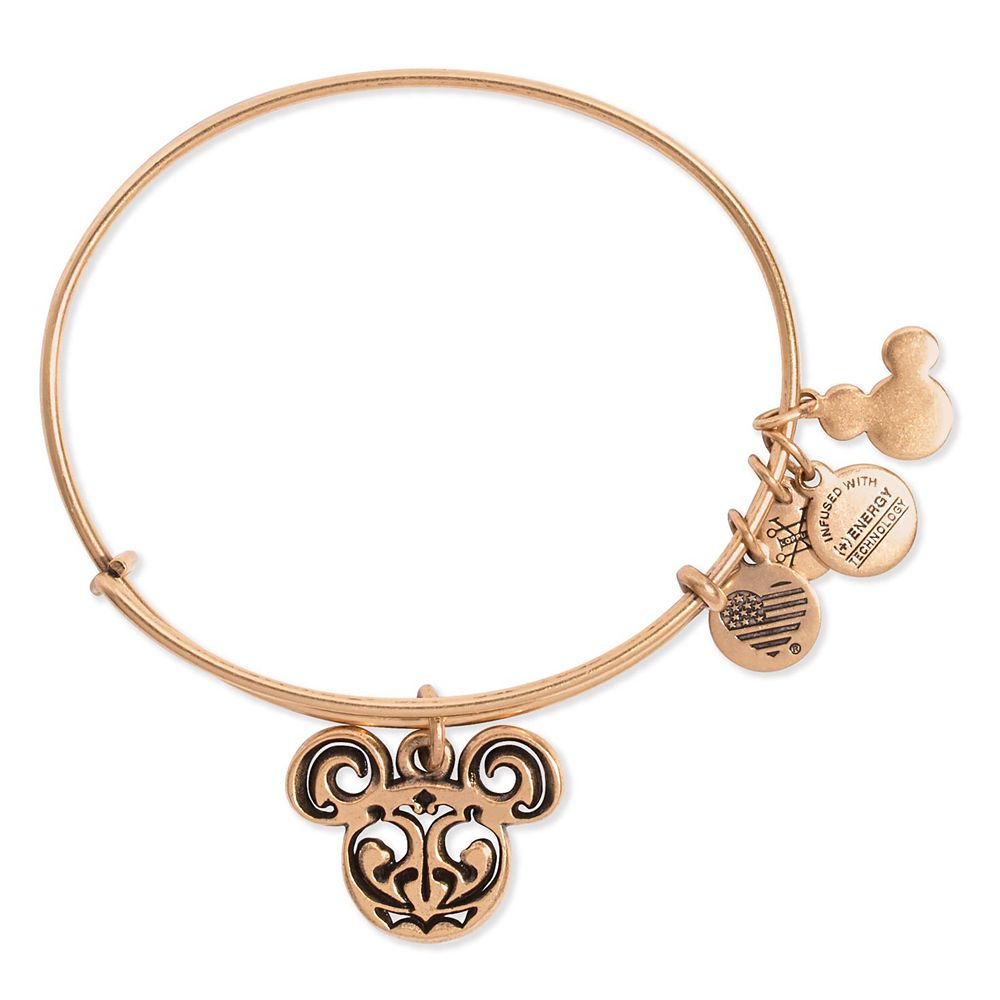 Mickey Mouse Icon Bangle by Alex and Ani