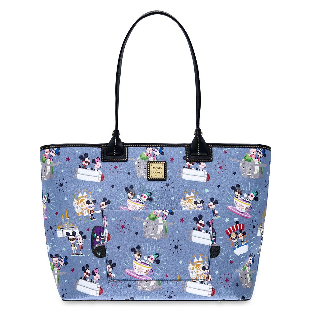 Mickey and Minnie Mouse Large Tote by Dooney & Bourke