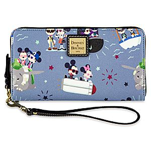 Mickey and Minnie Mouse Wallet by Dooney & Bourke