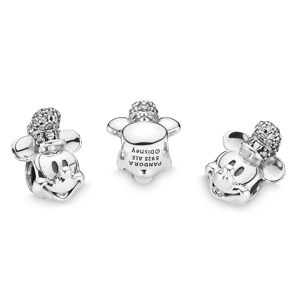Mickey Mouse as Steamboat Willie Charm by Pandora Jewelry