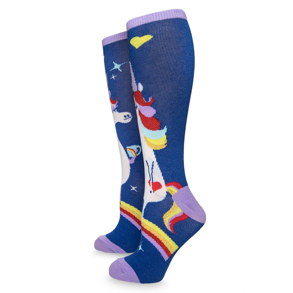 Rainbow Unicorn Socks for Adults – Inside Out