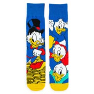 Scrooge McDuck and Nephews Socks for Adults