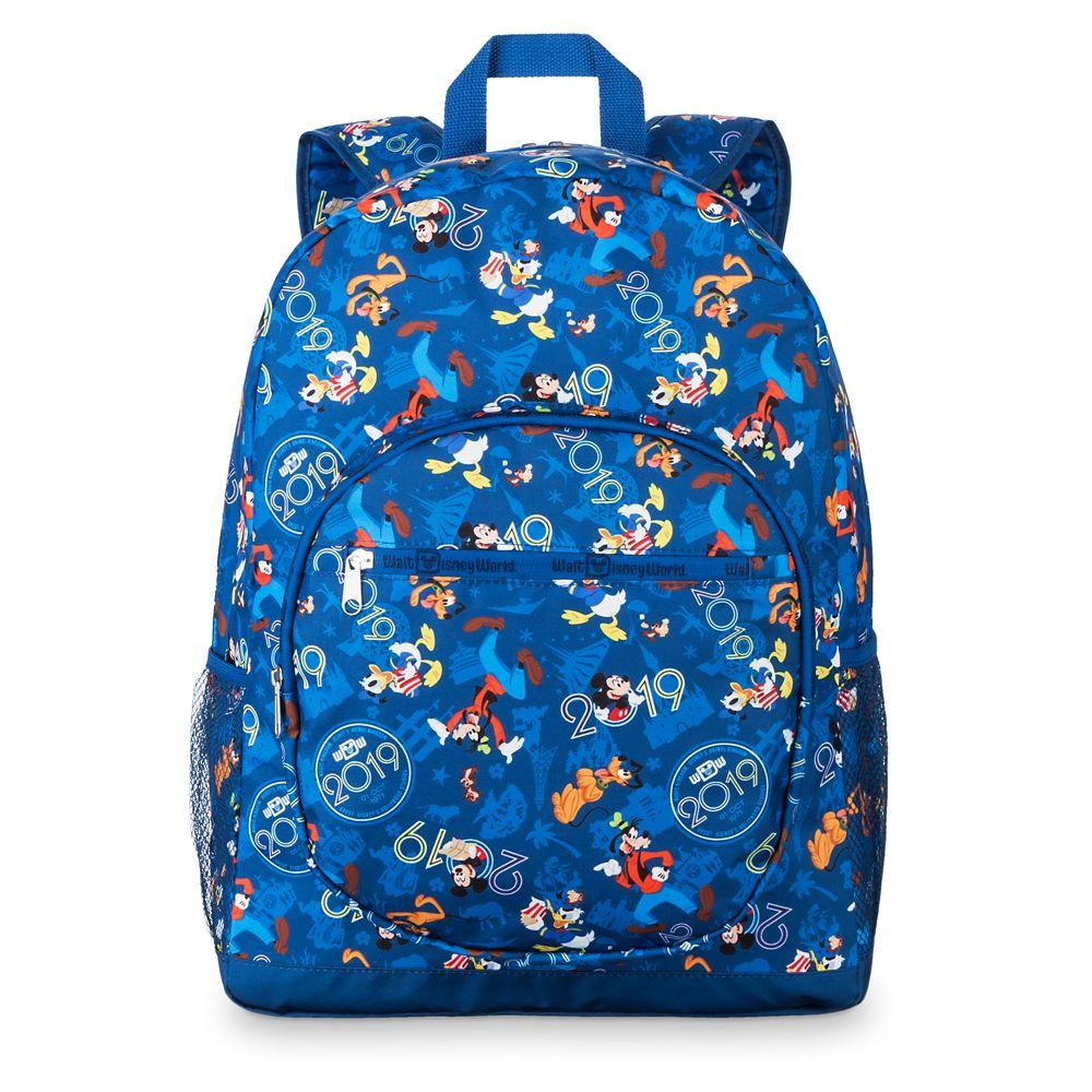 c7da64eeceb7 Mickey Mouse and Friends Walt Disney World Backpack – 2019