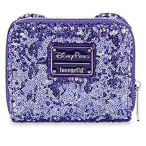Minnie Mouse Potion Purple Sequined Wallet by Loungefly
