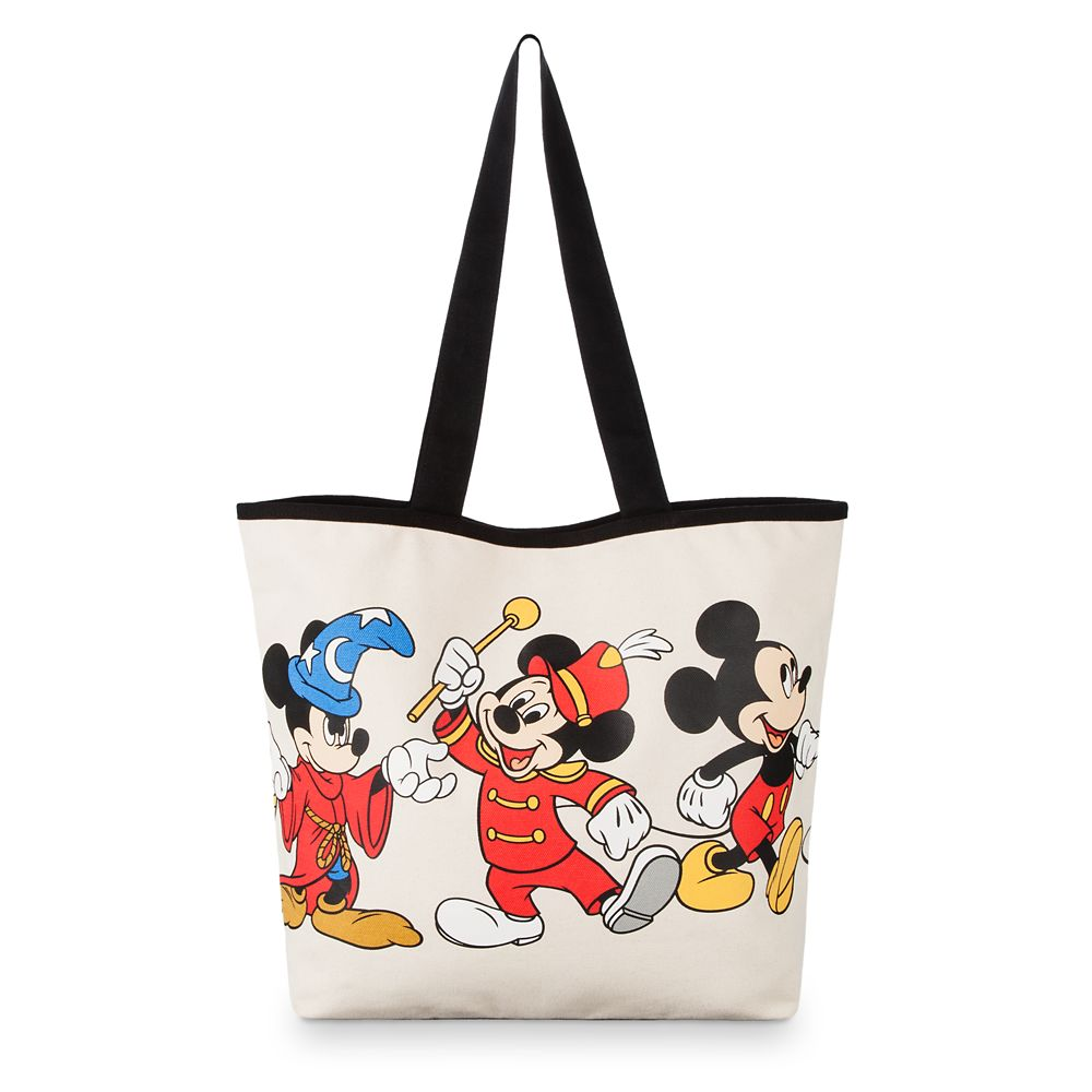 Mickey Mouse Through the Years Canvas Tote Bag