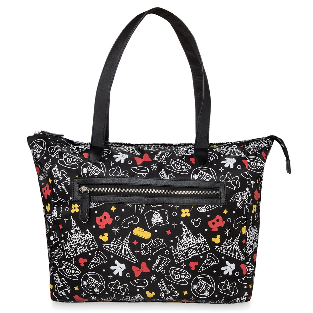 Mickey and Minnie Mouse Disney Parks Tote Bag