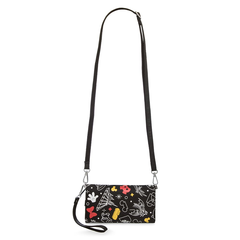 Mickey and Minnie Mouse Disney Parks Wristlet