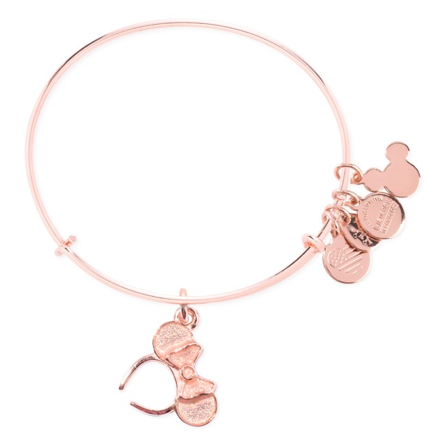 Minnie Mouse Ears Bangle by Alex and Ani – Rose Gold