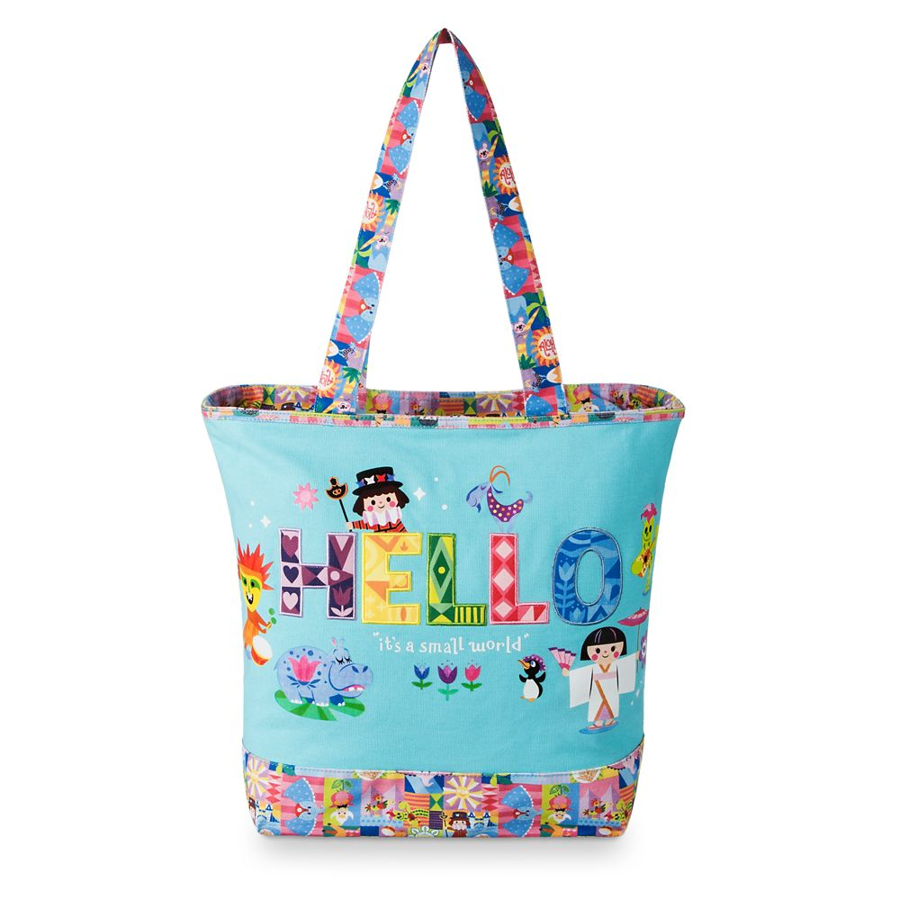 Disney it's a small world Canvas Tote Bag