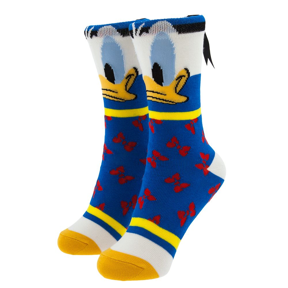 Donald Duck Cupcake Socks for Kids