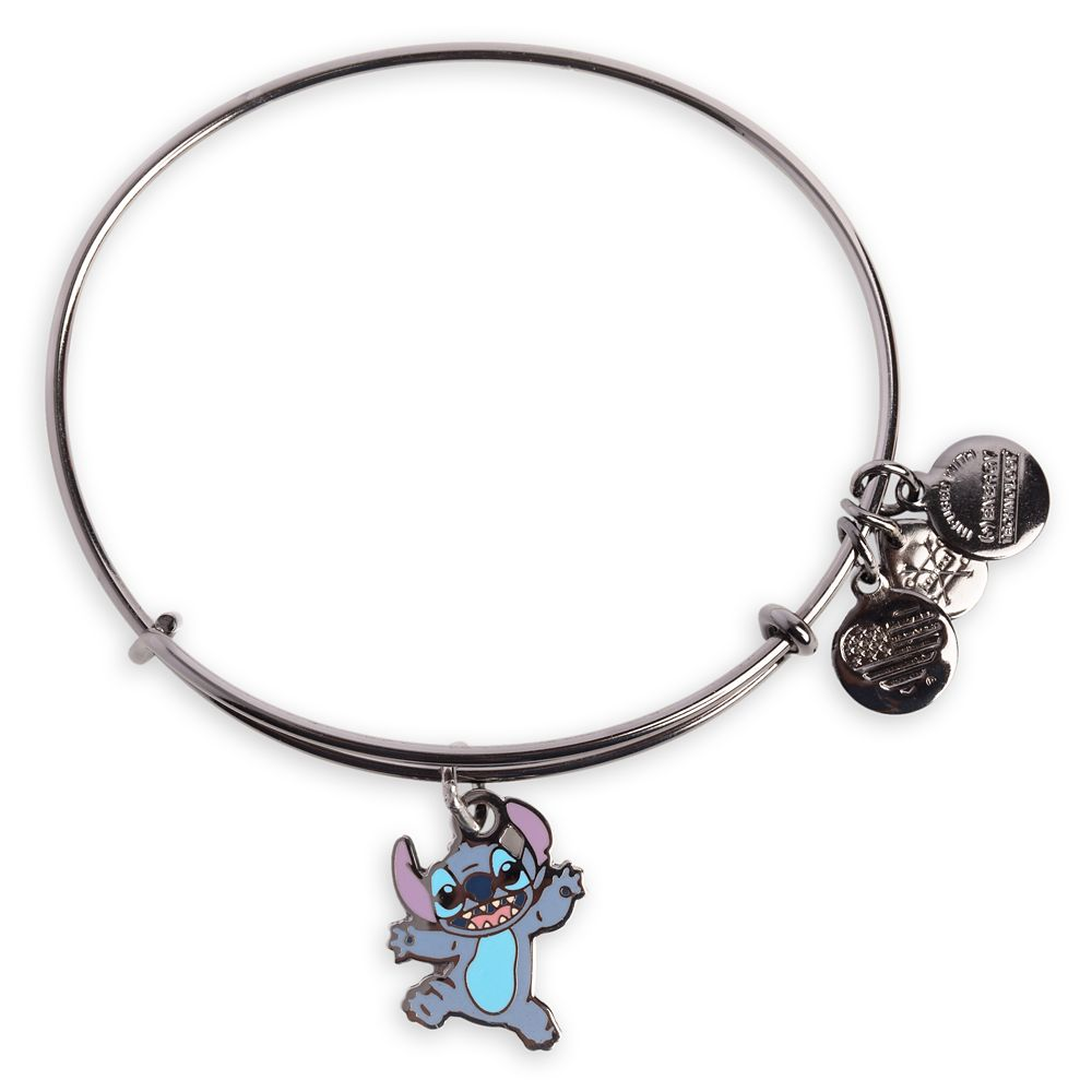 Stitch Bangle by Alex and Ani